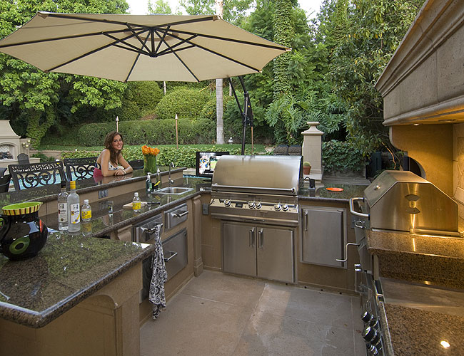 Outdoor Kitchen Outdoor Fireplace Firepits